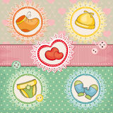 Lovely baby vector illustration Royalty Free Stock Image