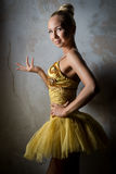Lovely ballet dancer Stock Photos