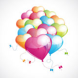 Lovely balloons Stock Image