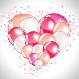 Lovely balloons Royalty Free Stock Images