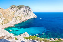Lovely bay at Mallorca Islands Royalty Free Stock Photography