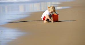 Lovely beach girl Stock Photography