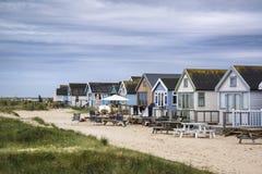Lovely beach huts  Royalty Free Stock Photo