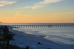Lovely beach. Panama City Beach, Florida Royalty Free Stock Photo