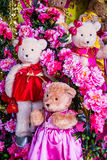 Lovely bear dolls Royalty Free Stock Photos
