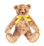 Lovely bear. I drew the bear which I loved Stock Photo