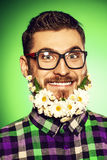 Lovely beard Royalty Free Stock Photos