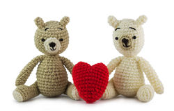 Lovely bears Royalty Free Stock Image