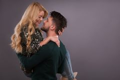 Lovely beautiful couple Royalty Free Stock Photography