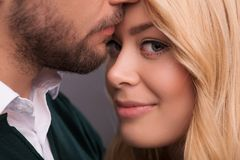 Lovely beautiful couple Stock Images