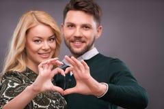 Lovely beautiful couple Stock Photography