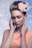 Lovely beauty lady Stock Photo