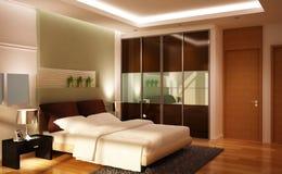 Lovely bedroom set Royalty Free Stock Photo
