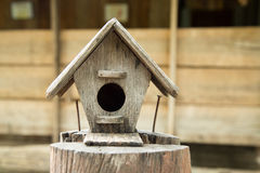 Lovely bird house. Royalty Free Stock Photo