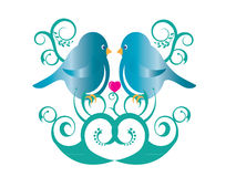 Lovely Birds Stock Photo