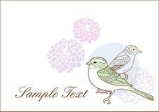 Lovely birds Royalty Free Stock Image