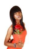 Lovely black girl. Royalty Free Stock Images