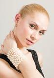 Lovely blond Stock Image