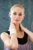 Lovely blond Royalty Free Stock Photo