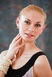 Lovely blond Royalty Free Stock Image