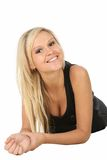 Lovely Blond Beauty Woman Royalty Free Stock Photo
