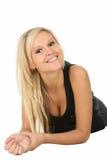 Lovely Blond Beauty Woman Royalty Free Stock Photo