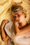Lovely blond girl Royalty Free Stock Photos
