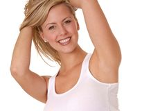 Lovely Blond Girl Royalty Free Stock Images