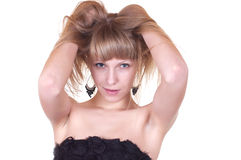 Lovely blonde Royalty Free Stock Image