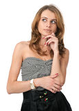 Lovely blonde woman Royalty Free Stock Images