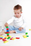Lovely boy playing Royalty Free Stock Image