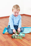 Lovely boy playing Royalty Free Stock Photos
