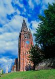 New Forest Church stock photography