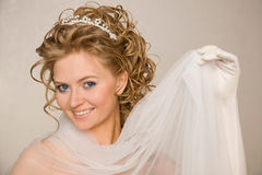 Lovely bride Royalty Free Stock Image