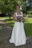 Lovely bride Royalty Free Stock Photo