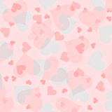 Lovely bright Valentine's Day Hearts Stock Images