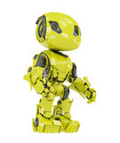 Lovely bright yellow android Stock Photo