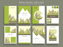 Lovely brochure template Royalty Free Stock Photography