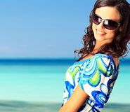 Lovely brunette woman Royalty Free Stock Image