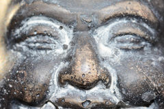 The lovely buddha staty in the sun Royalty Free Stock Image