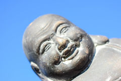 The lovely buddha staty in the sun Stock Photography