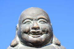 The lovely buddha staty in the sun Royalty Free Stock Images