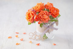 Lovely bunch of flowers . Stock Images