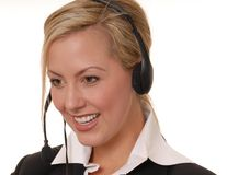 Lovely Business Lady 10 Royalty Free Stock Photography