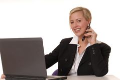 Lovely Business Lady 102 Royalty Free Stock Images