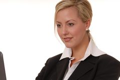 Lovely Business Lady 103 Stock Images