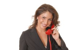 Lovely Business Lady 11 Royalty Free Stock Photos