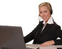 Lovely Business Lady 116 Royalty Free Stock Photos