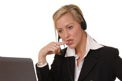 Lovely Business Lady 118 Royalty Free Stock Photo