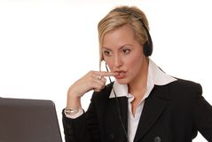 Lovely Business Lady 119 Royalty Free Stock Photo